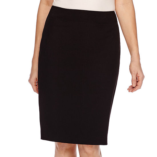 65b682ee8e7cb Worthington Curvy Fit Skirt JCPenney