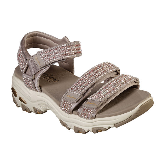 Skechers Womens Dlites  Pretty Things Strap Sandals