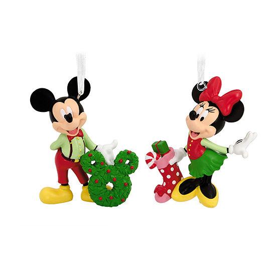 Hallmark Disney Mickey And Minnie Christmas Ornament