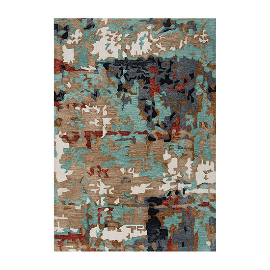 Rizzy Home Zac Hand Tufted Rectangular Indoor/Outdoor Rugs