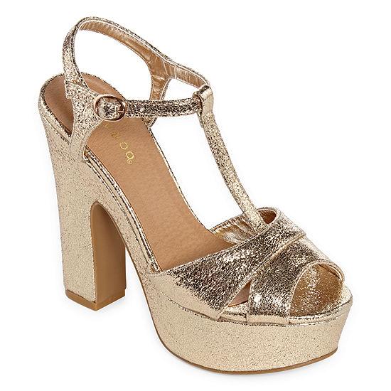 Bamboo Womens Boast 03s Heeled Sandals