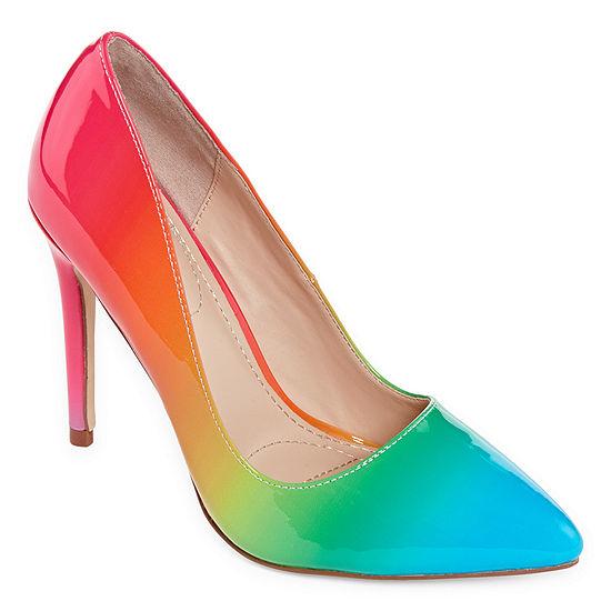 Anne Michelle Womens Hibiscus 22s Heeled Sandals