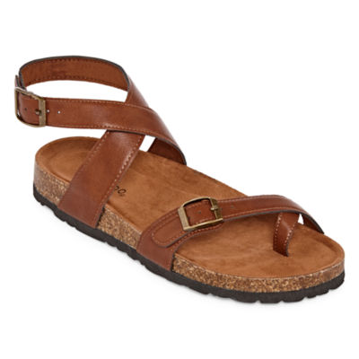 Bamboo Defeat 26s Womens Adjustable Strap Footbed Sandals