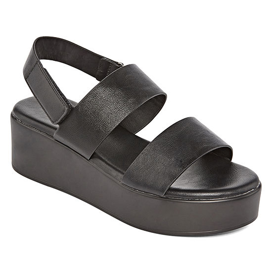 Bamboo Womens Bonus 01m Wedge Sandals