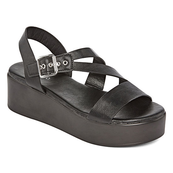 Bamboo Womens Bonus 15s Wedge Sandals