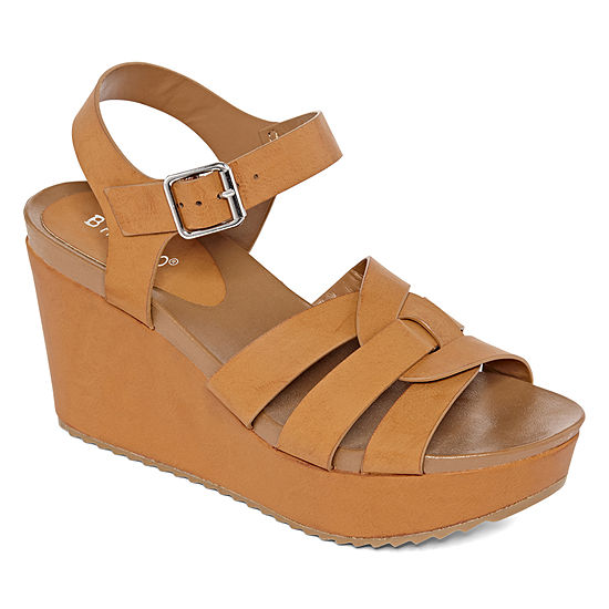 Bamboo Womens Cuddle 11s Wedge Sandals