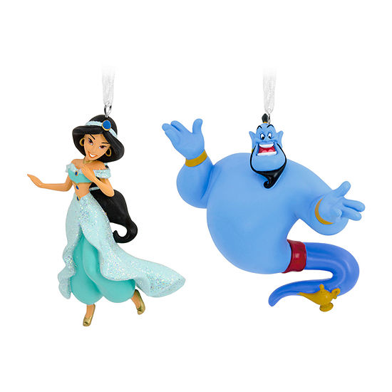 Hallmark Disney Aladdin Princess Jasmine And Genie Christmas Ornament