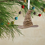 Hallmark Harry Potter Quidditch And Sorting Hat Christmas Ornament