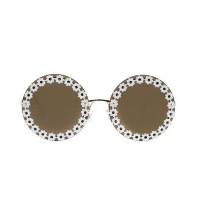 Fantas Eyes Womens Petunia Full Frame Round UV Protection Sunglasses
