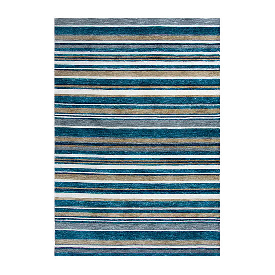 Rizzy Home Zayne Hand Tufted Rectangular Indoor/Outdoor Rugs