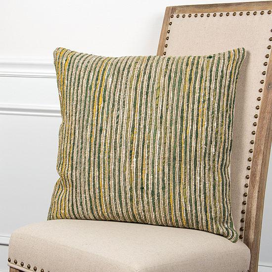 Rizzy Home Jayden Stripe Pattern Filled Pillow
