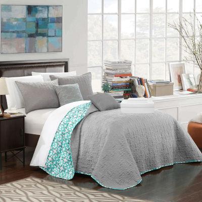 Chic Home Anat 9-pc. Reversible Quilt Set