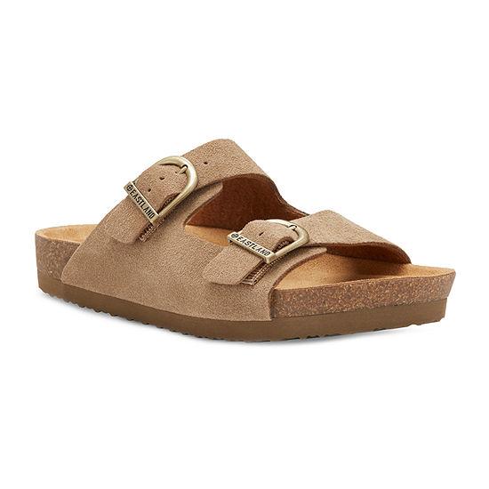 Eastland Womens Cambridge Adjustable Strap Flat Sandals