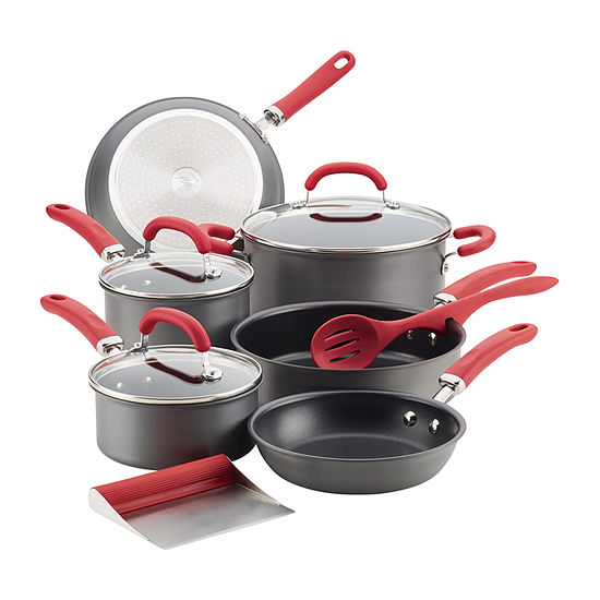 Rachael Ray Create Delicious 11-Pc. Cookware Set