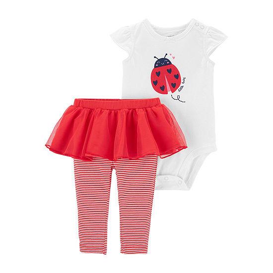 Carter's Baby Girls 2-pc. Bodysuit Set