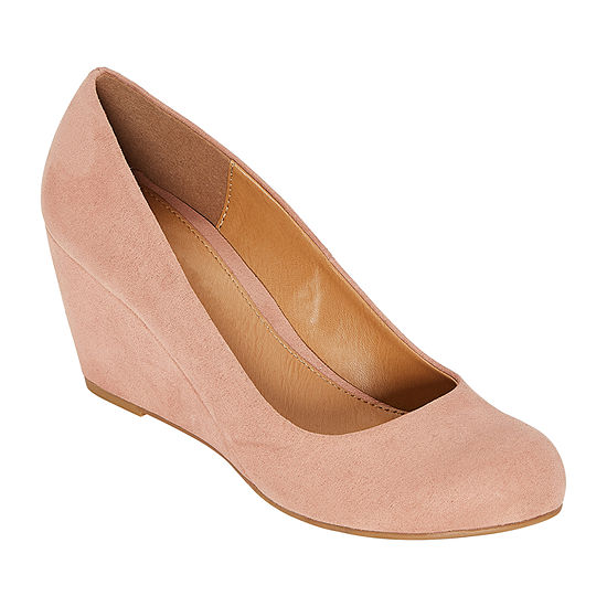 CL by Laundry Womens Nima Closed Toe Wedge Heel Pumps