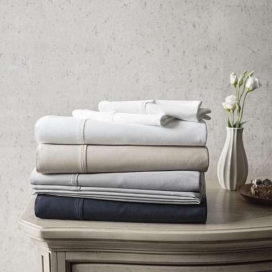 Liz Claiborne 500TC Egyptian Cotton Sateen Sheet Set