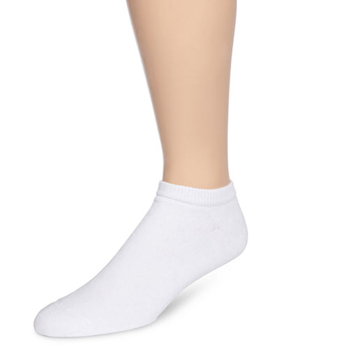 Hanes® Mens 6-pk. ComfortBlend® Full Cushion Low-Cut Socks