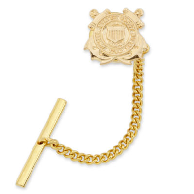 US Coast Guard Gold-Plated Tie Tack