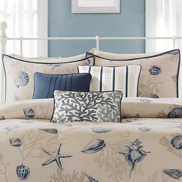 Madison Park Nantucket Coastal 6-pc. Duvet Cover Set