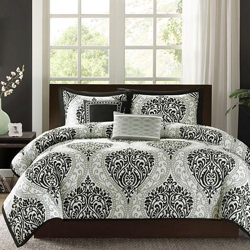 Intelligent Design Sydney Damask Comforter Set