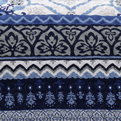 Intelligent Design Nicole Medallion Coverlet Set