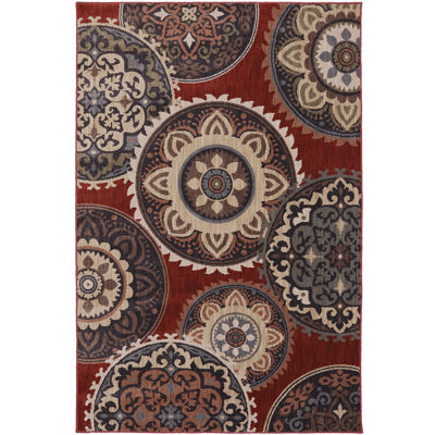 American Rug Craftsmen Summit View Medallion Rectangular Rug