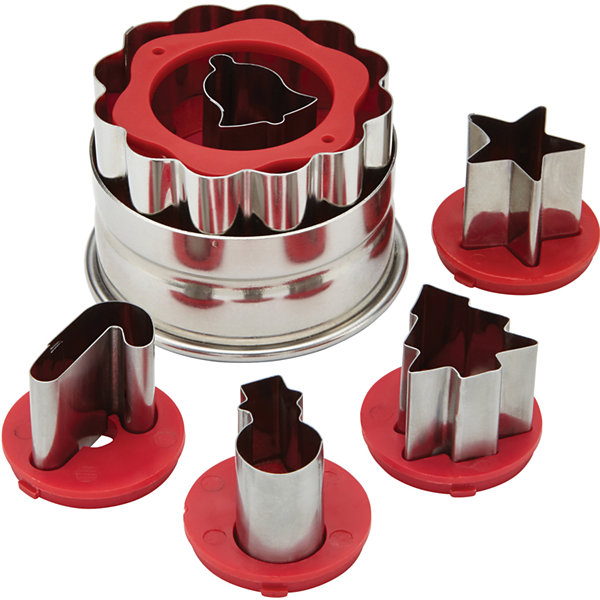 Cake Boss™ Holiday Linzer Cookie Cutter Set