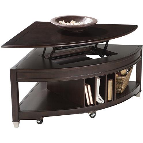 Corner Lift-Top Coffee Table
