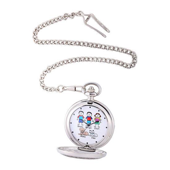 Unisex Adult Silver Tone Bracelet Watch-41477-S