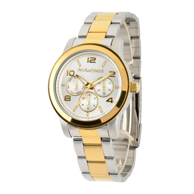 Personalized Dial Two-Tone Stainless Steel Watch
