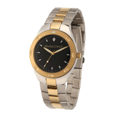 Personalized Dial Mens Two-Tone Stainless Steel Watch