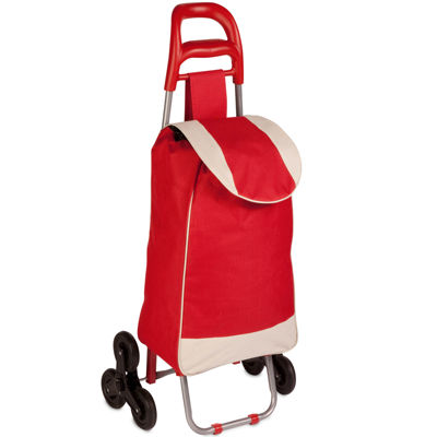 Honey-Can-Do® Tri-Wheel Knapsack Bag Cart