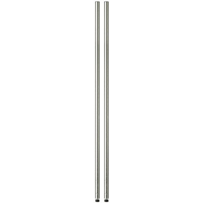 "Honey-Can-Do® 2-Pack 72"" Steel Shelving Support Poles"