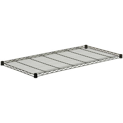 "Honey-Can-Do® 48x18"" Steel Shelf - Black"