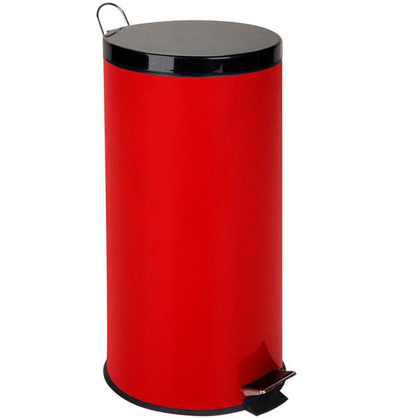Honey Can Do® 30 Liter Round Step Trash Can