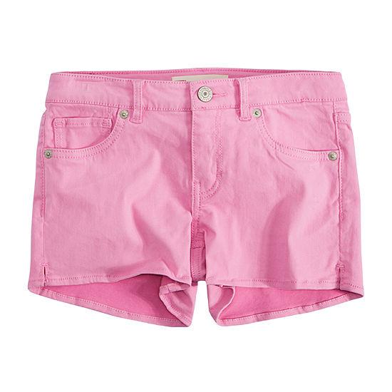 Levi's Jet Set Big Girls Shortie Shorts