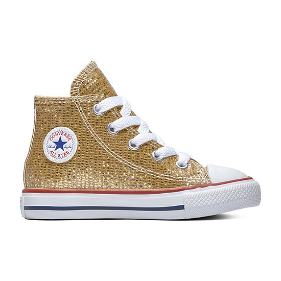 Converse Chuck Taylor All Star Hi Toddler Girls Lace-up Sneakers