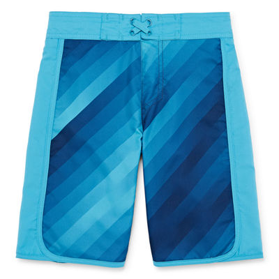 Xersion Boys Ombre Swim Trunks Husky