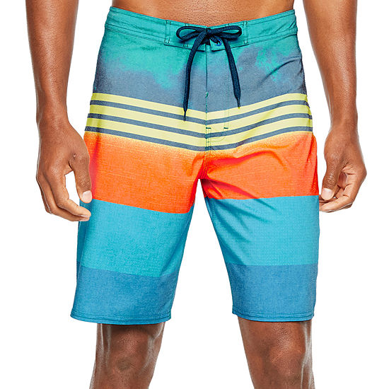 Burnside Striped Board Shorts