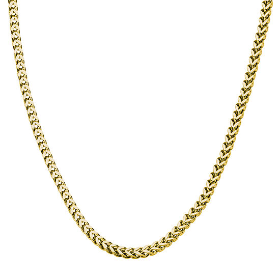 Stainless Steel 24 Inch Snake Chain Necklace
