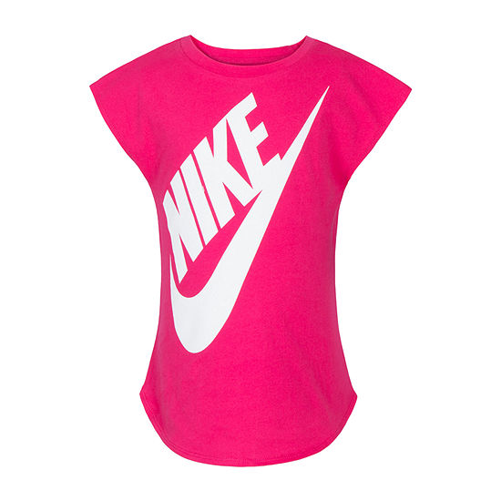 Nike Short Sleeve Futura Tee - Girls Preschool