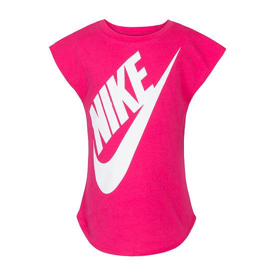 Nike Short Sleeve Futura Tee - Girls Preschool