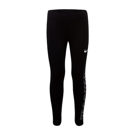 Nike Little Girls Full Length Leggings