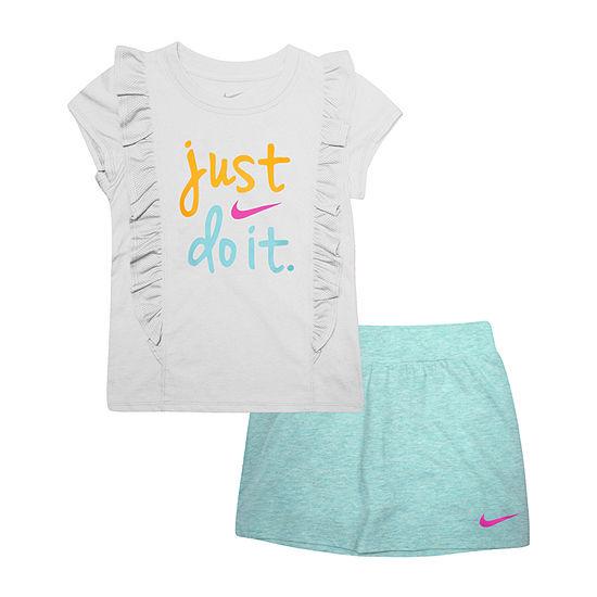 9d023ee00 Nike 2-pc. Skort Set Girls - JCPenney