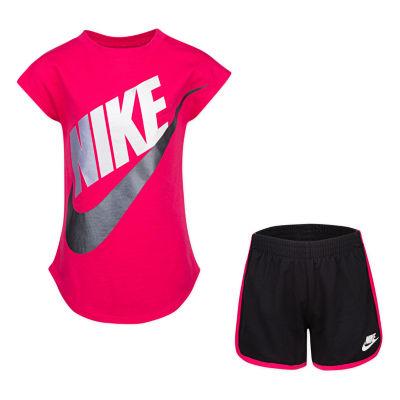 Nike 2-pc. Short Set Girls