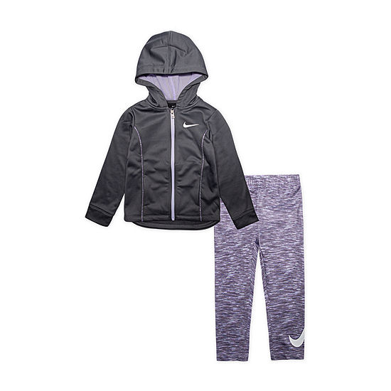 Nike Dri Fit Girls 2-pc. Legging Set-Preschool