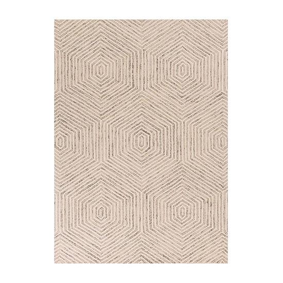 Kas Honeycomb Hand Tufted Rectangular Indoor Rugs