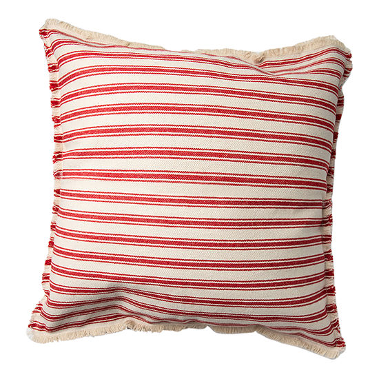 Spencer Eyelash Square Throw Pillow