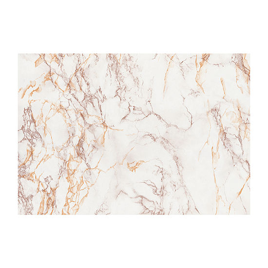 Brewster Wall Brown And Gold Marble Wall Decal